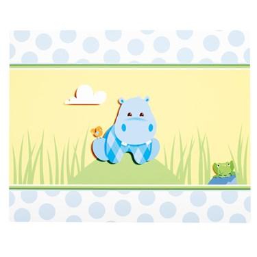 Hippo Blue Activity Placemats