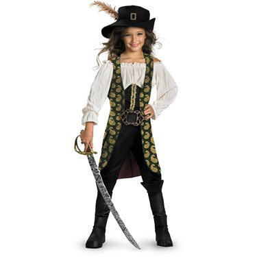 Pirates of the Caribbean 4 On Stranger Tides - Angelica Deluxe Child Costume