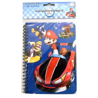 Mario Kart Wii Notebook