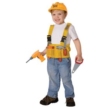 Construction Worker Kids Costume Kit