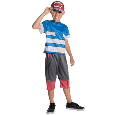 Pokemon - Ash Ketchum Child Costume
