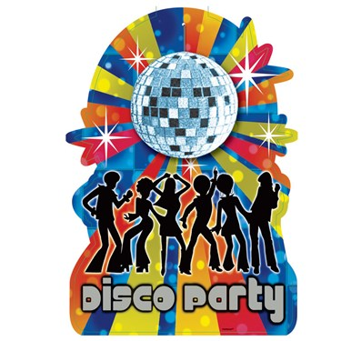 Disco Party Cutout