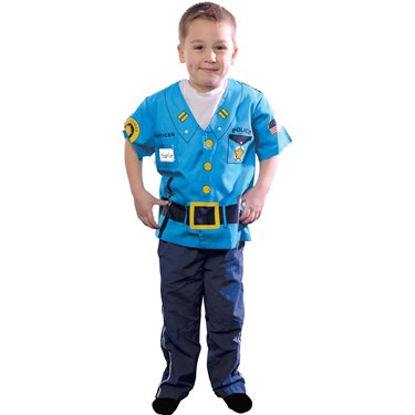 My First Career Gear - Police Toddler Costume
