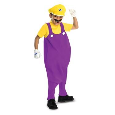 Super Mario Bros. - Wario Deluxe Toddler / Kids Costume