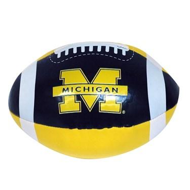 Michigan Wolverines Soft Football