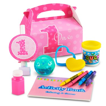 Everything One Girl Filled Party Favor Box