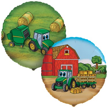 John Deere Johnny Tractor Foil Balloon