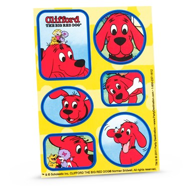 Clifford The Big Red Dog - Sticker Sheets