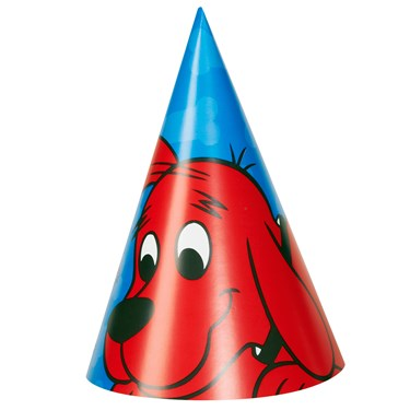 Clifford The Big Red Dog - Cone Hats