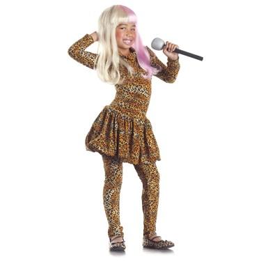 Rap Superstar Leopard-Print Child Costume