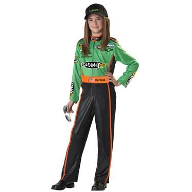 NASCAR Danica Patrick Kids Plus Costume