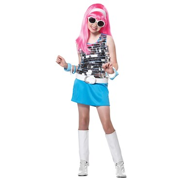 Go Go Girl Kids Plus Costume