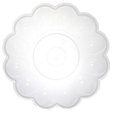 Clear Egg Platter