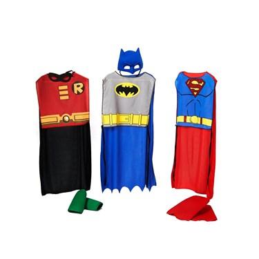 DC Comics Action Trio Kids Costume Kits