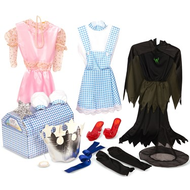The Wizard of Oz Dress Up Trunk Kids Costume Kits