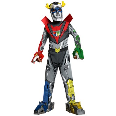 Voltron Deluxe Kids Costume
