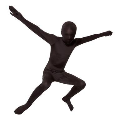 Black Skin Suit Kids Costume