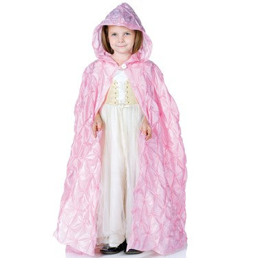 Pink Pintuck Cape (Child)