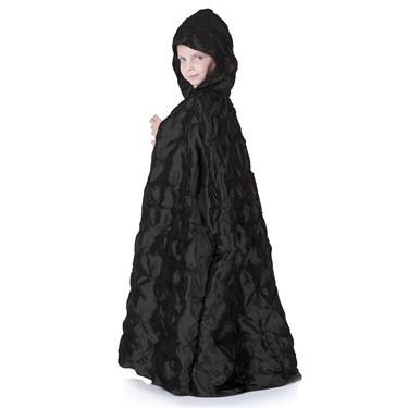 Black Pintuck Cape (Child)