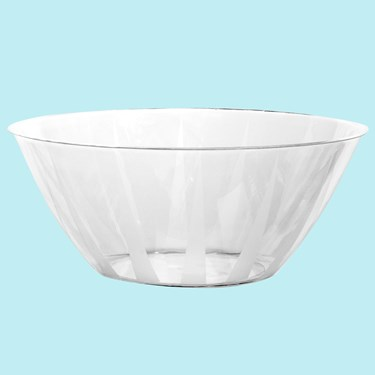 Clear Large Serving Bowl