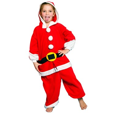 Santa Child Costume