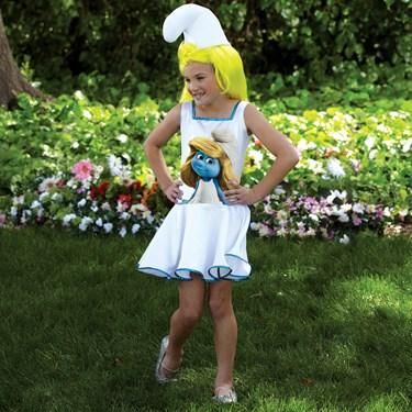 The Smurfs - Smurf Dress Kids Costume