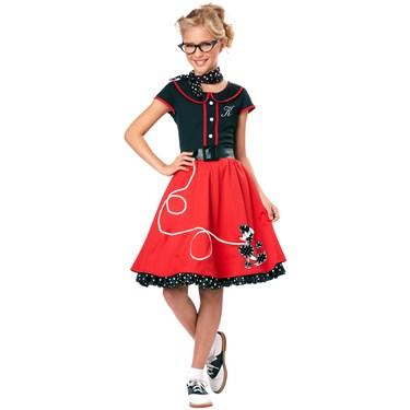 50's Sweetheart Child Costume