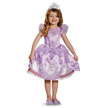 Disney Sofia the First Deluxe Toddler / Child Costume