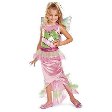Winx Club Deluxe Flora Mermaid Child Costume