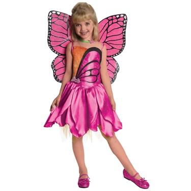 Barbie-Deluxe Mariposa Toddler / Child Costume