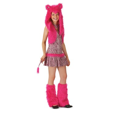 Pink Leopard Child Costume