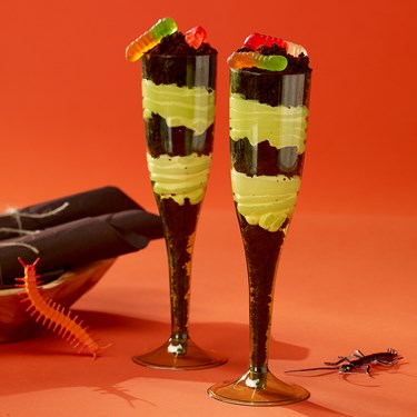 Avocado 5.5 oz. Premium Plastic Champagne Flutes