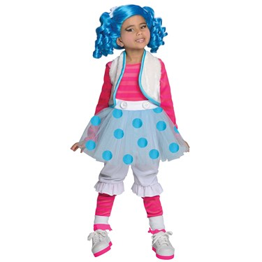 """Lalaloopsy Deluxe Mittens Fluff """"N"""" Stuff Toddler / Child Costume"""