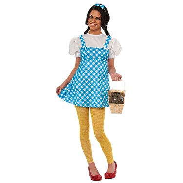 Young Adult Wizard Of Oz Dorothy Costume