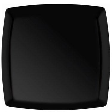 Black Premium Plastic Square Platter