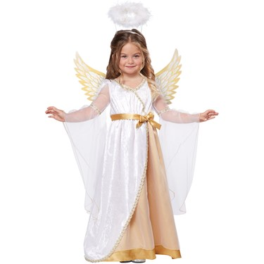 Cute Little Angel Toddler Costume