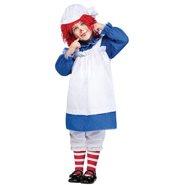 Raggedy Ann & Andy - Ann Toddler Girl Costume