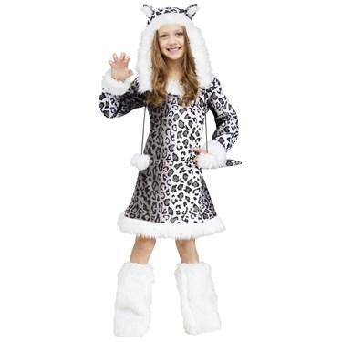 Snow Leopard Girls Costume