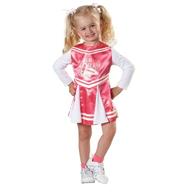 Cheerleader Toddler Dress Costume