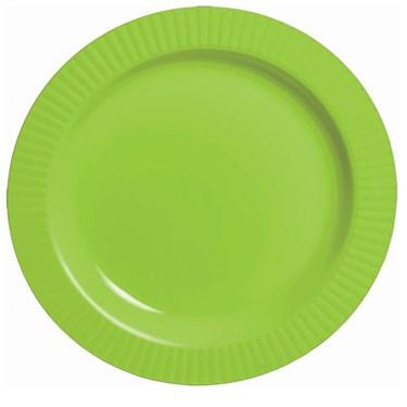 Kiwi Premium Plastic Banquet Dinner Plates