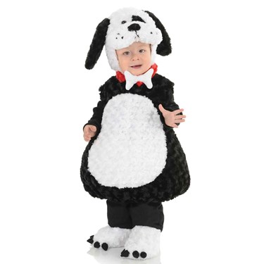 Lil Black and White Puppy Toddler/Child Costume
