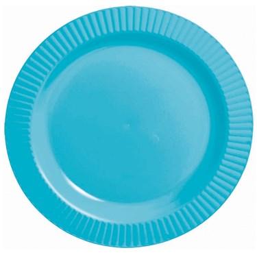 Caribbean Premium Plastic Dessert Plates