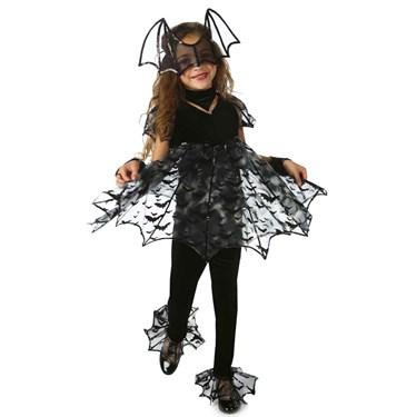 Deluxe Bat Girls Costume