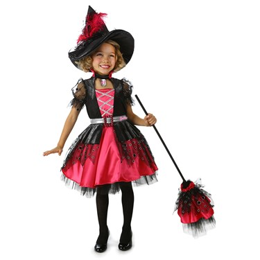 Deluxe Barbie Witch Girls Costume