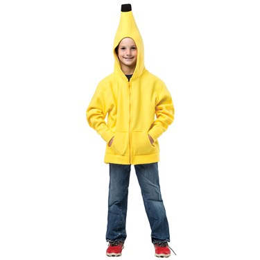Child Banana Hoodie