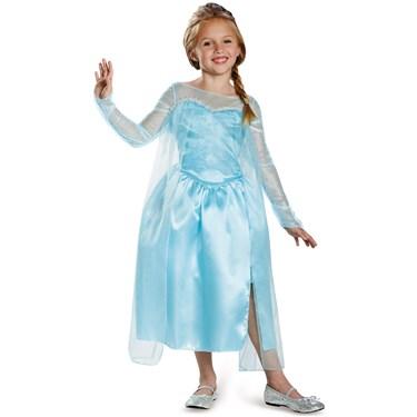 Frozen - Elsa Snow Queen Girls Costume