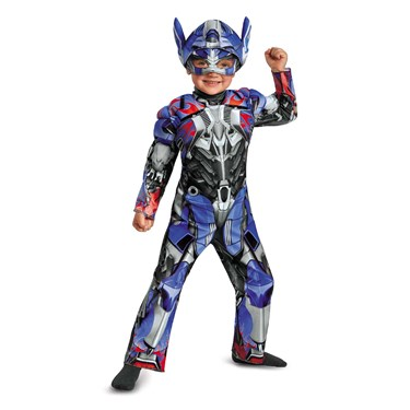 Transformers Age of Extinction Optimus Prime Toddler Muscle Costume