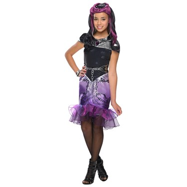 Ever After High -  Girls Raven Queen Costume