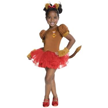 Wizard of Oz - Lion Tutu Child Costume
