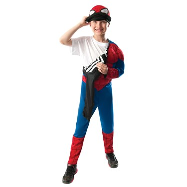 Ultimate Spider-Man Reversible Child Costume